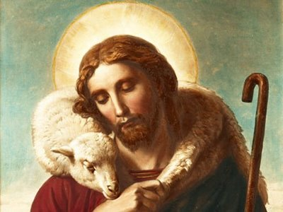 Image result for jesus the shepherd