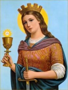 Happy Feast of St. Barbara!