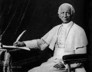Pope Leo XIII, intransigent monologue-er.