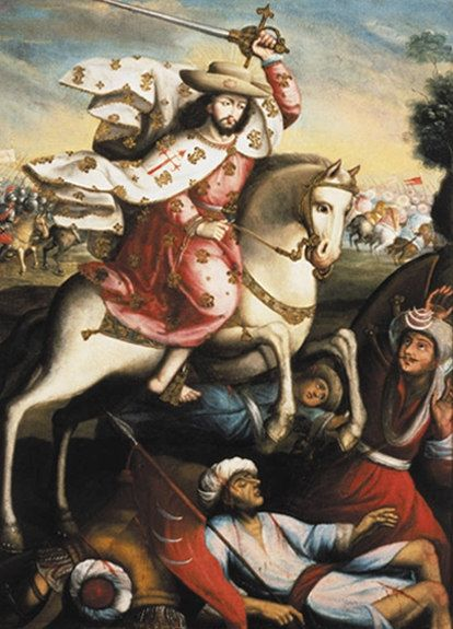 St. James the Great, encountering islam... but most assuredly NOT dialoguing with it.