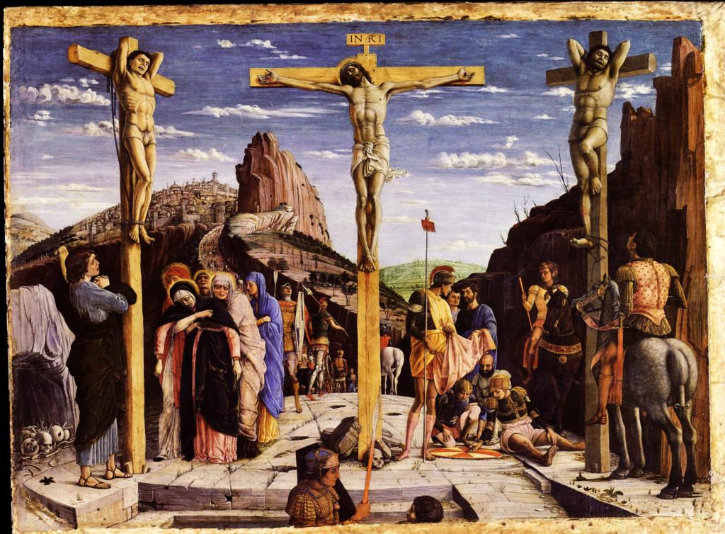 Calvary.  Andrea Mantegna.  ARSH 1459.