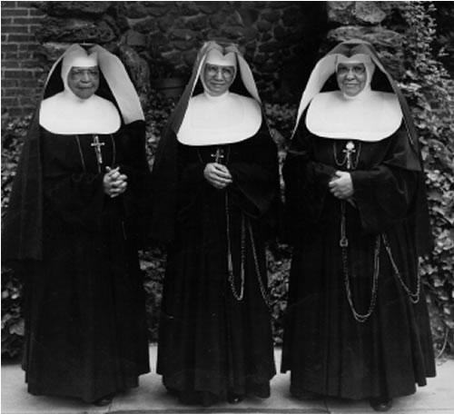 Back in the Good Old Days before Vatican II when nuns were actually Catholic.