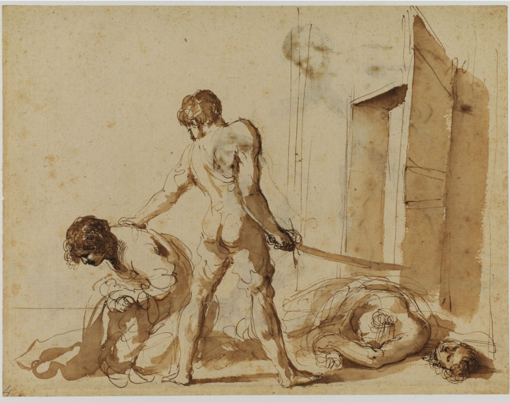The Martyrdom of Sts. John and Paul, Guercino, ARSH 1630-1632
