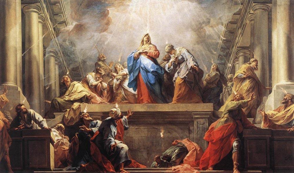 """Jean II Restout, """"Pentecôte"""", ARSH 1732"""