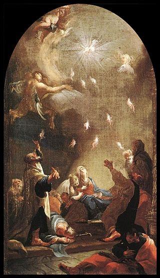 Josef Ignaz Mildorfer, Pentecost, ca. ARSH 1750