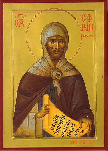 St. Ephrem, pray for us.