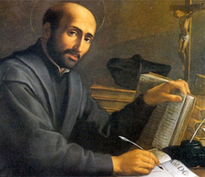 "St. Ignatius of Loyola, founder of an order referred to as the ""Jesuits"", not to be confused with the horrific, horrific monstrosity infecting the Church and the world today, which cunningly goes by the same name."
