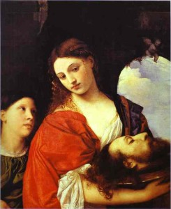 Salome with the Head of John the Baptist, Titian, ARSH 1515