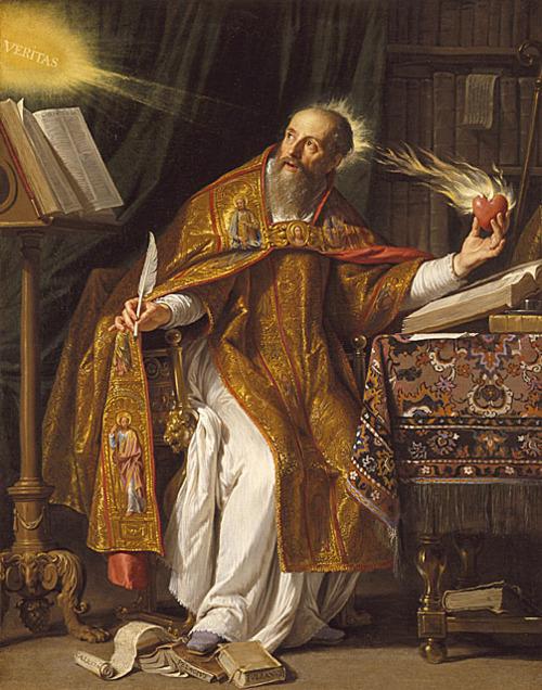 Saint Augustine of Hippo, Philippe de Champaigne, ARSH 1645-1650