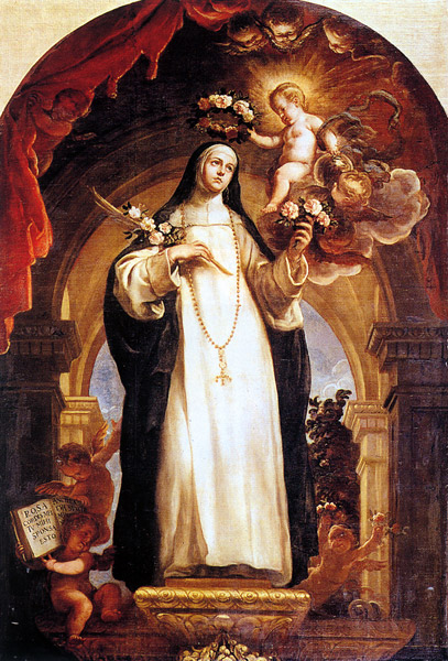 St. Rose of Lima, Claudio Coello (ARSH 1642-1693)