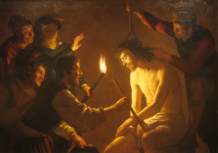 The Mocking of Christ, Gerrit van Honthorst, ca. ARSH 1617