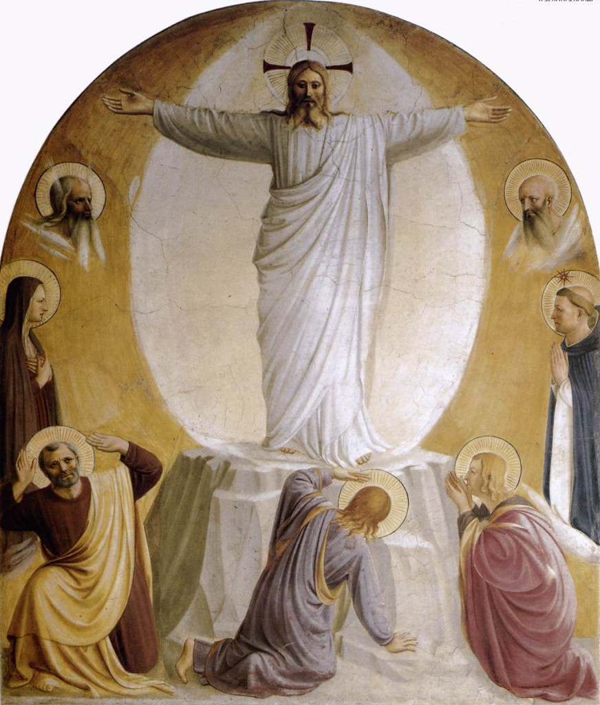 The Transfiguration, Fra Angelico, ARSH 1442, Convent of San Marco Cell 6, Florence