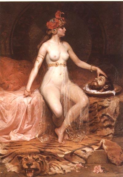 Salome, Pierre Bonnaud, ARSH 1865-1930, Musée Hebert