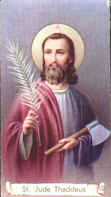 St. Jude, pray for us!