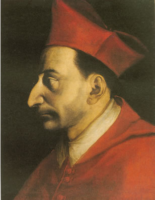 St. Charles Borromeo and his formidable proboscis.