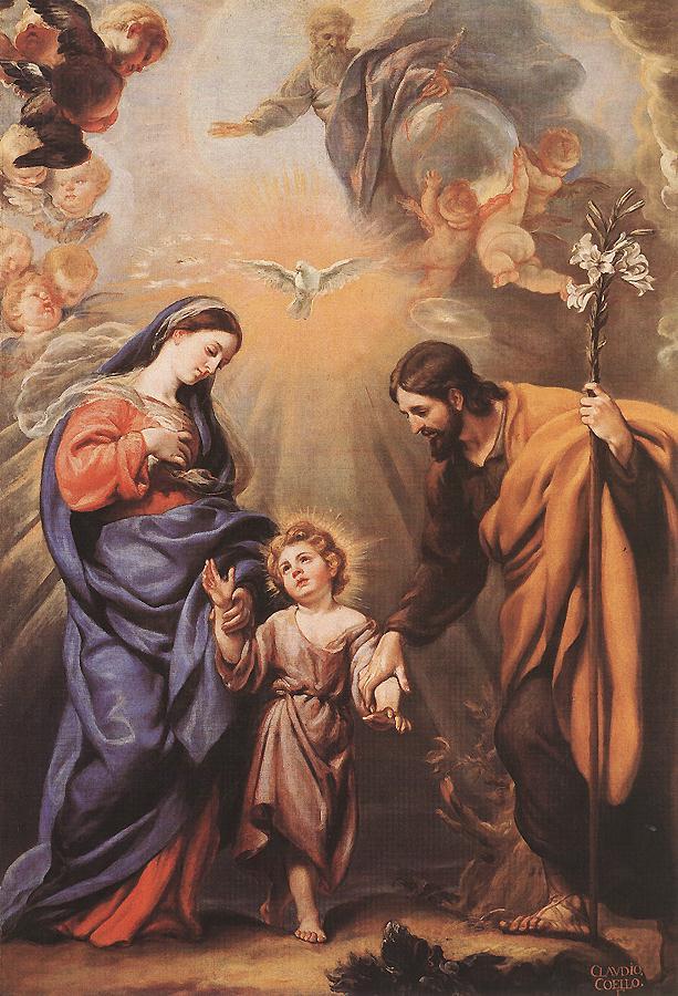 The Holy Family, Claudio Coello, late 17th century