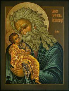 St. Simeon, the God Receiver