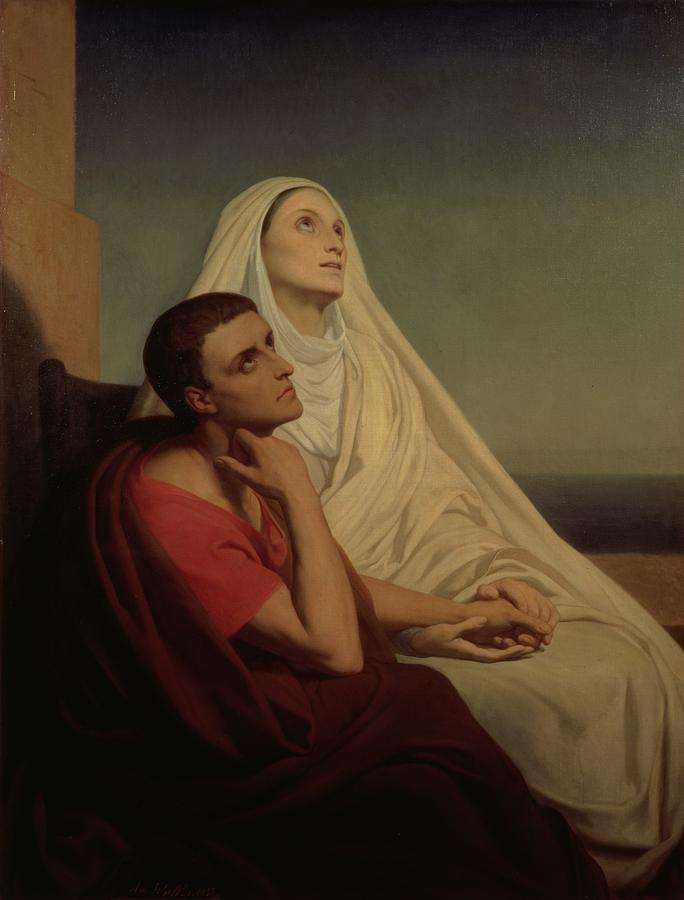 St. Augustine and his mother, St. Monnica