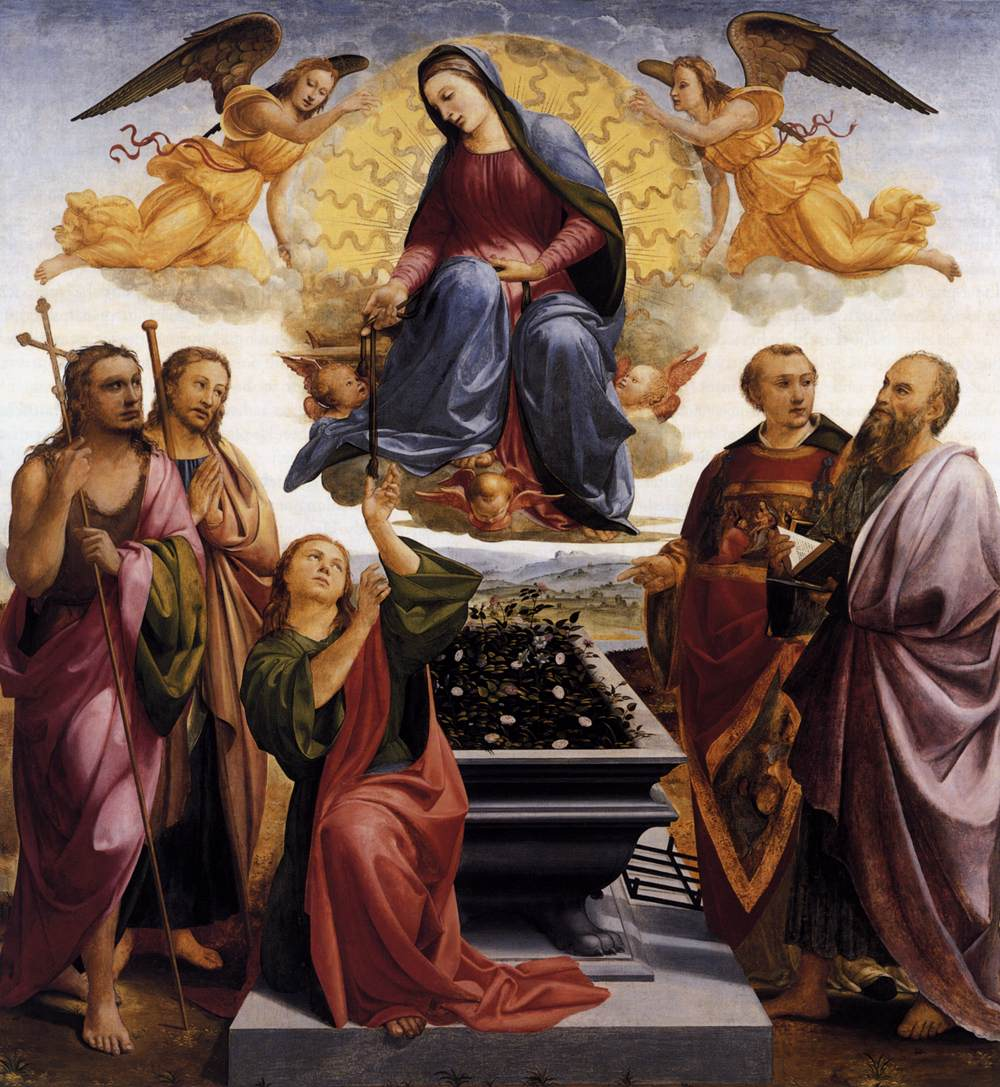 Assumption of the Virgin, Francesco Granacci