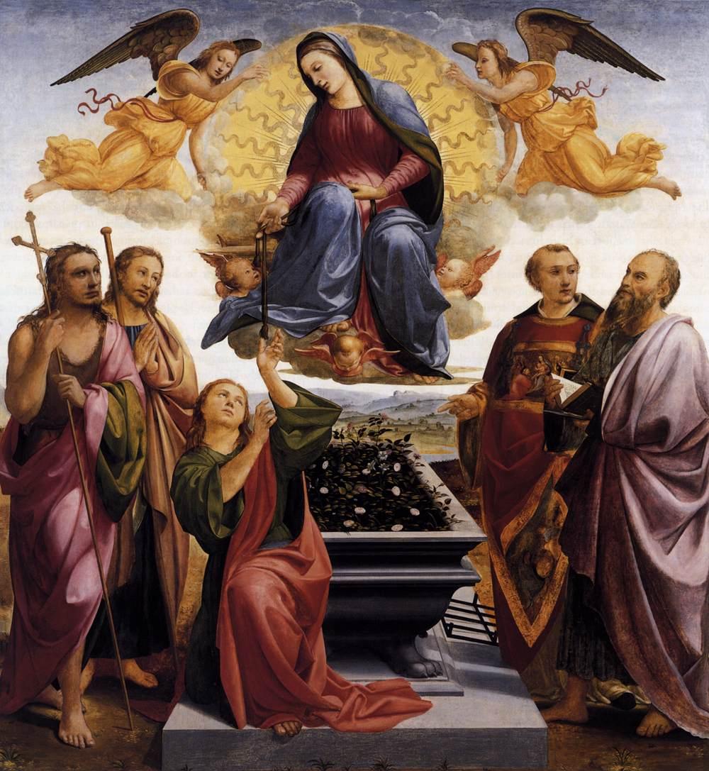 Assumption of the Virgin, Francesco Granacci