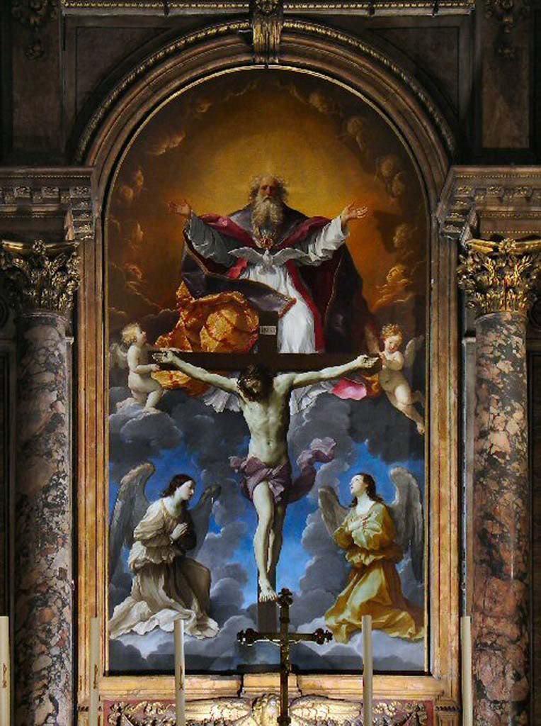 Most Holy Trinity, Guido Reni