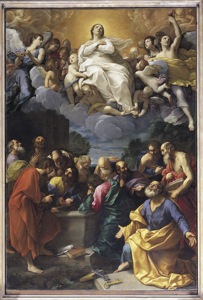 The Assumption of the Blessed Virgin, by my favorite artist, Guido Reni, ARSH 1616