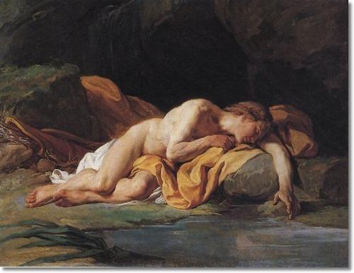 Narcissus, Nicolas Bernard Lepicie, ARSH 1771