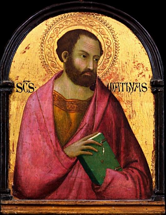 St. Matthias, Workshop of Simone Martini, Early 14th Century