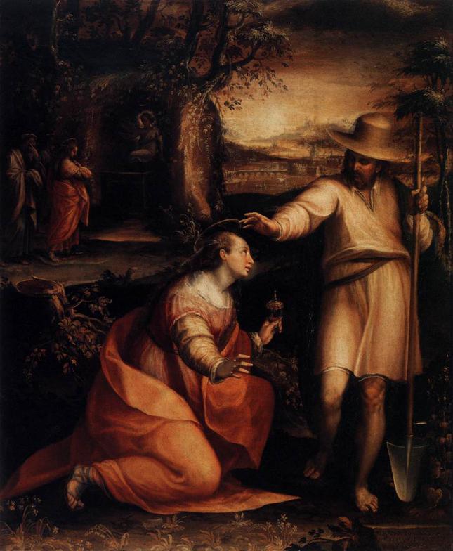 Noli Me Tangere, Lavinia Fontana, ARSH 1581