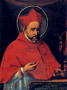 St. Robert Bellarmine. His friends call him Bob.