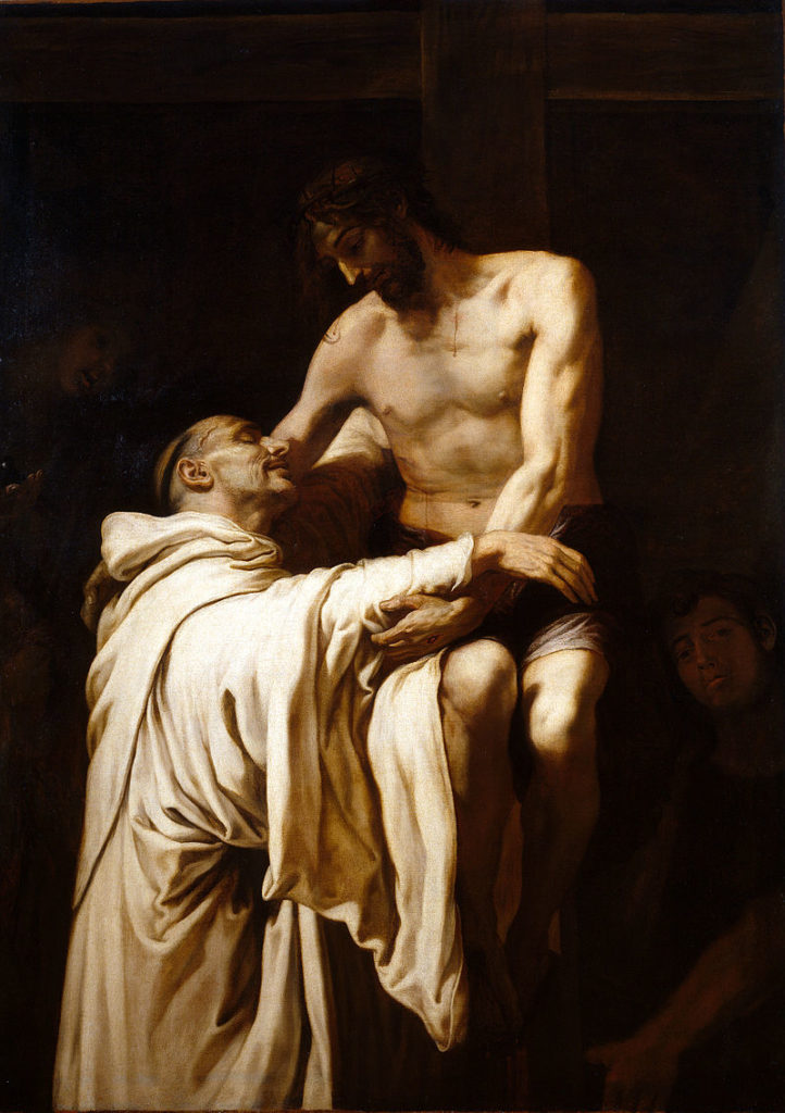 Deposed Christ Embracing St. Bernard of Clairvaux, Francisco Ribalta