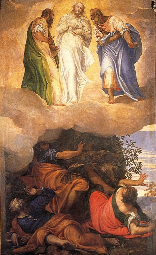 Transfiguration of Christ, Paolo Veronese, ARSH 1555-56, Cathedral of Santa Maria, Montagnana