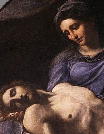 Pieta, ARSH 1600, Museo Nazionale di Capodimonte, Naples, Annibale Carracci.