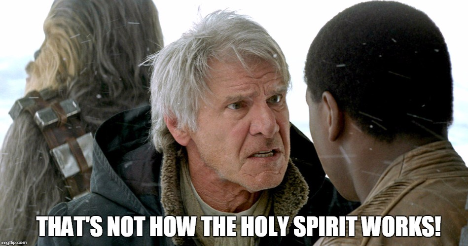 Han Solo breaks down the topic of infallibility...