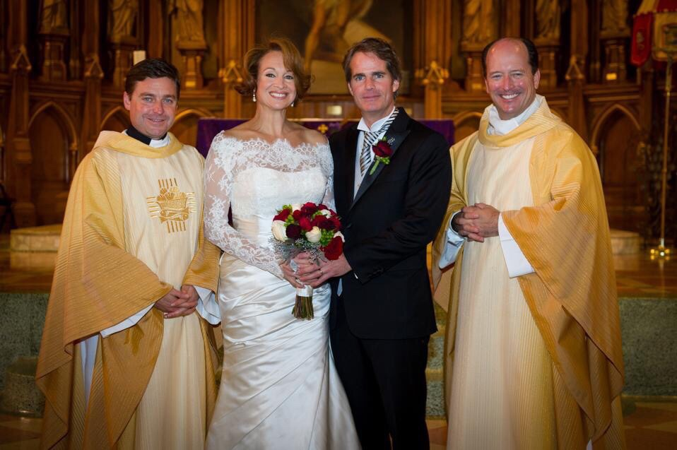Oh, didn't you know? Fr  Jonathan Morris married Liz Lev and