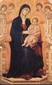 Maestà del Duomo di Siena (detail), Duccio di Buoninsegna, ARSH 1308-1311